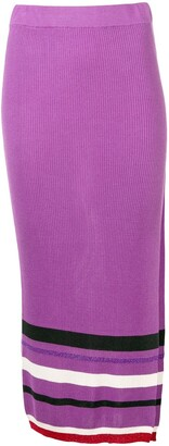 Cashmere In Love high-waisted knitted skirt