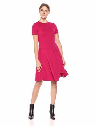 Eliza J Women's Drop Waist Cap Sleeve Dress