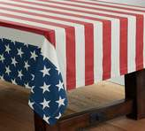 Pottery Barn American Flag Tablecloth