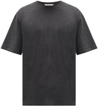The Row Josiah Cotton-blend T-shirt - Grey