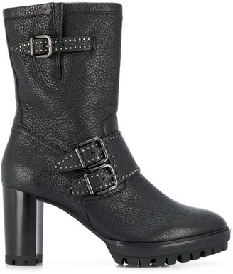 Högl Buckle-Detail Boots