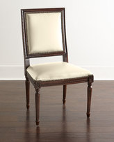 Horchow Massoud Ingram Leather Dining Chair, C9
