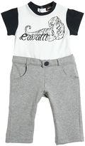 Roberto Cavalli Tiger Printed Cotton Jersey Romper