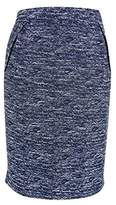 Tommy Hilfiger Women's Tweed Pleated Pencil Skirt