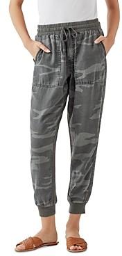 Splendid Lakeside Camo Print Jogger Pants