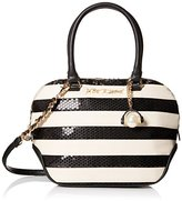 Betsey Johnson Sequin Satchel Bag