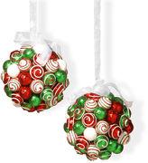 National Tree Co 6i Ornament Hanging Balls Set