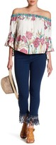 Flying Tomato Fringed High-Waisted Skinny Jean
