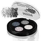 Lavera Beautiful Mineral Eyeshadow Quattro, #01 Smoky Grey, 0.026 Ounce