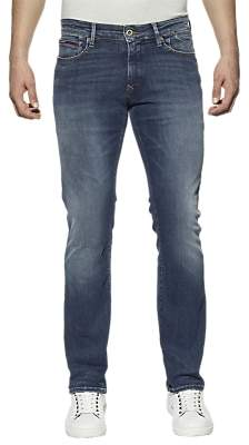 Tommy Hilfiger Tommy Jeans Scanton Slim Jeans, Mid Blue