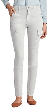 Joe's Jeans Favorite Daughter for The Charlie Skinny Cargo Jeans in Pale Gray