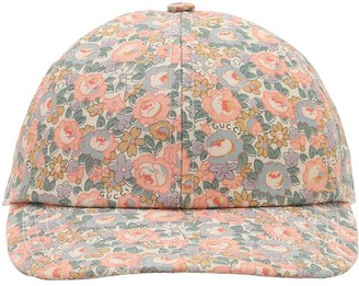 Gucci Printed Cotton Canvas Baseball Cap
