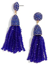 BaubleBar Women's Annabelle Mini Tassel Drop Earrings