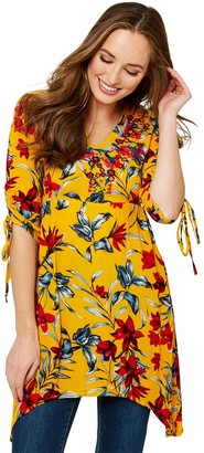 Joe Browns Ultimate Beachy Tunic - Yellow