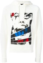 DSQUARED2 screaming panel hoodie