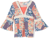 Speechless Royal Blue Patchwork Tunic - Girls