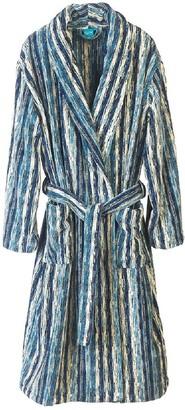 Elaiva Blue Perth Collar Bath Robe