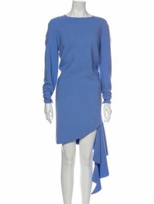 Oscar de la Renta 2019 Mini Dress Wool
