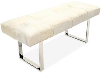 Le-Coterie Le Coterie Skinny Dena Bench - Off-White