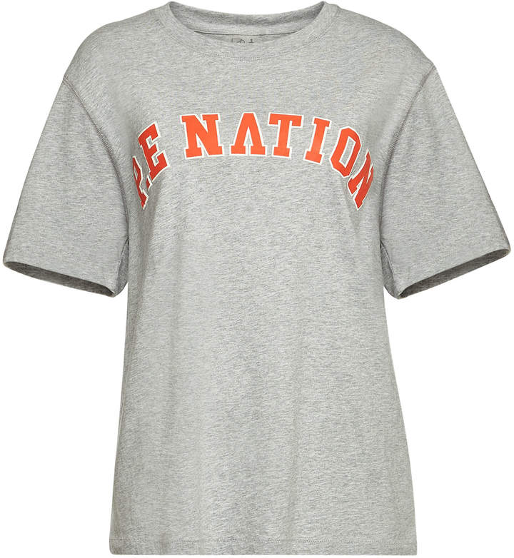 P.E Nation Squad Shot Printed Cotton T-Shirt
