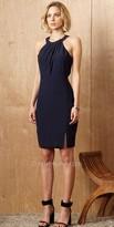 Greylin Cecilia Cut Out Halter Dress