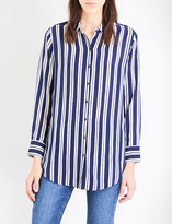 MiH Jeans Simple silk-crepe de chine shirt
