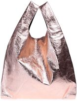 MM6 MAISON MARGIELA Metallic Faux-leather Tote Bag