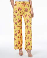 XOXO Juniors' Floral-Print Soft Pants