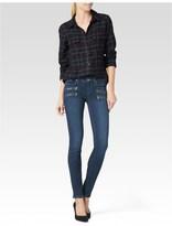 Paige Mya Shirt - Vineyard/Dark Slate Plaid