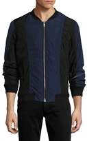 BLK DNM Colorblocked Bomber Jacket
