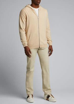 Massimo Alba Men's Cashmere Zip-Front Cardigan