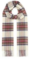 Johnstons of Elgin Woven Check Cashmere Scarf