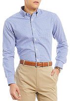 Daniel Cremieux Signature Non-Iron Royal Oxford Gingham Long-Sleeve Woven Shirt