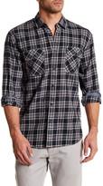 James Campbell Agra Plaid Regular Fit Shirt