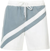 Katama - panel track shorts - men - Polyester - 30