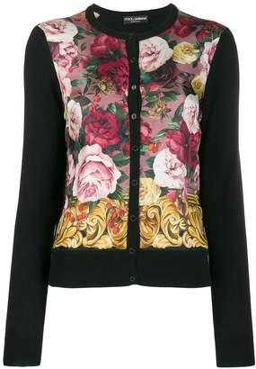 Dolce & Gabbana cashmere floral cardigan