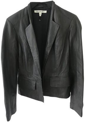 Twenty8Twelve By S.Miller By S.miller Black Leather Jacket for Women