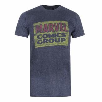 Marvel Men's Comics Group Logo T Shirt XXL