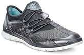 Ecco Dark Shadow Metallic & Titanium Lynx Sneaker - Women