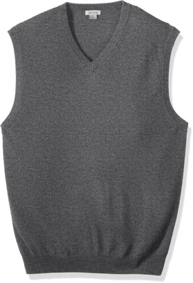 Phenix Cashmere Big Men's 100% V-Neck Sweater Vest