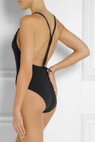 Eres Spotlight Groupie macramé-trimmed swimsuit