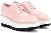 Prada Leather platform Oxford shoes