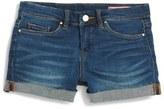 Blank NYC Girl's Blanknyc Cuff Denim Shorts