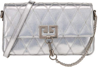 Givenchy Small Charm Shoulder Bag in Silver | FWRD