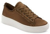 Mossimo Women's Zell Satin Lace Up Sneakers