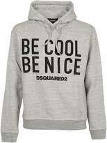 DSQUARED2 Be Cool Be Nice Hoodie