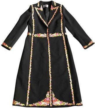 Giambattista Valli X H&m Black Coat for Women