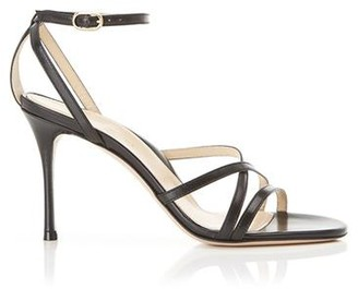 Marion Parke Lillian Black | Strappy Evening Sandal Stiletto