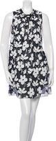 Marni Sheer Floral Print Dress