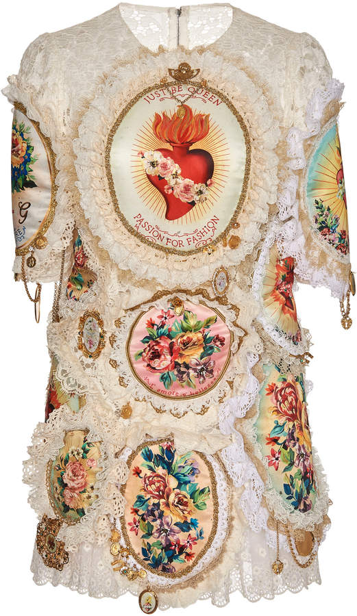0d295db3 Dolce & Gabbana Embroidered Dresses - ShopStyle